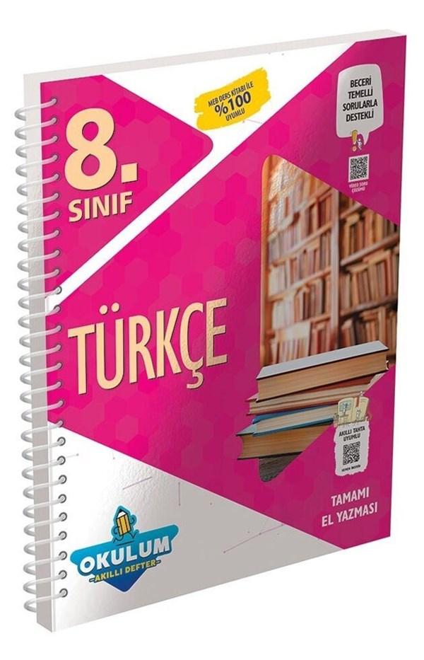 Murat Yayınları 8. Sınıf Türkçe Okulum Akıllı Defter