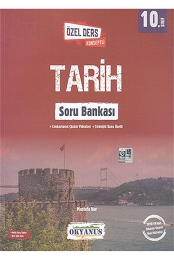 Okyanus Yayınları Okyanus 10. Sınıf Özel Ders Konseptli Tarih Soru Bankası