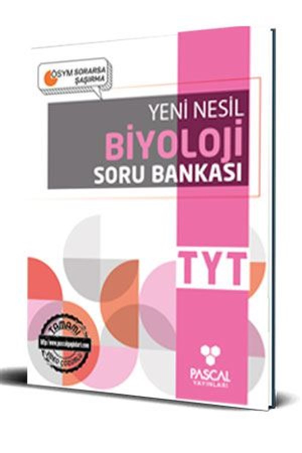 Pascal TYT Biyoloji Soru Bankası Pascal Yayınları