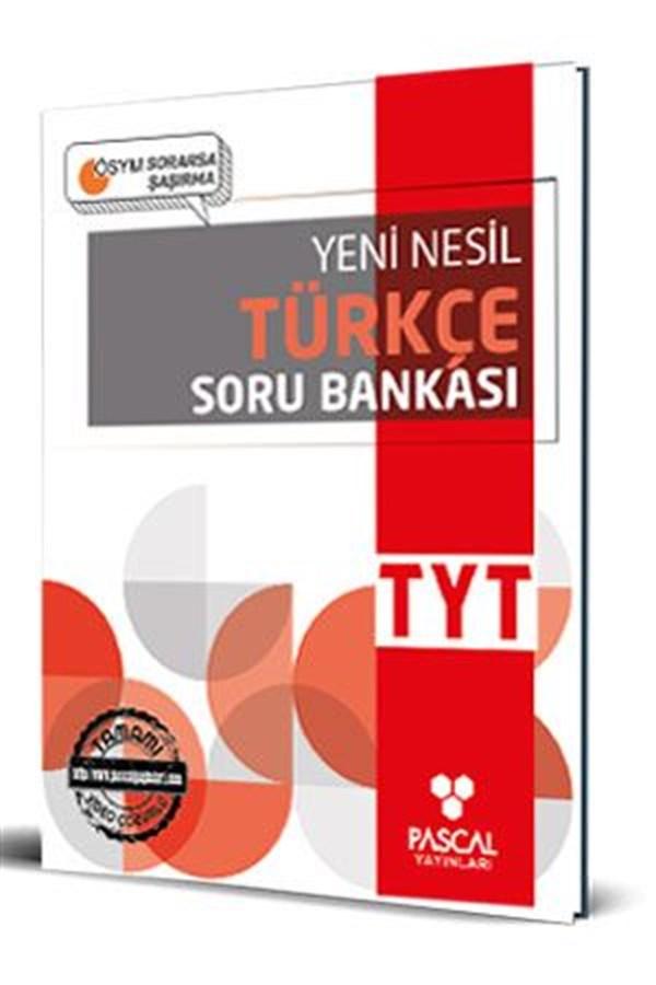 Pascal TYT Türkçe Soru Bankası Pascal Yayınları