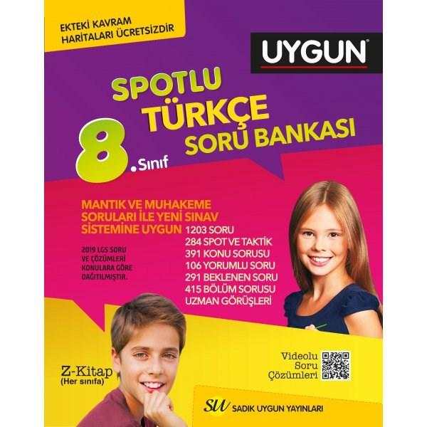 Sadık Uygun Yayınları 8. Sınıf Türkçe Soru Bankası