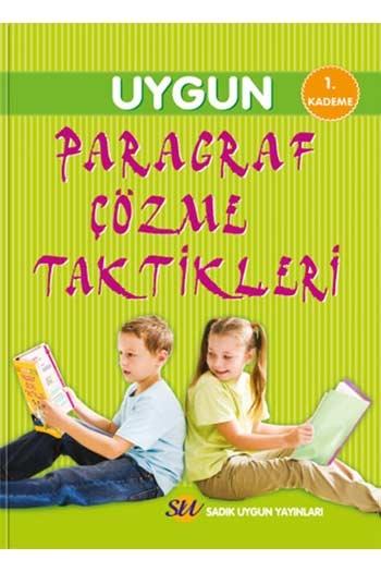 Sadık Uygun Yayınları Paragraf Çözme Taktikleri 1. Kademe