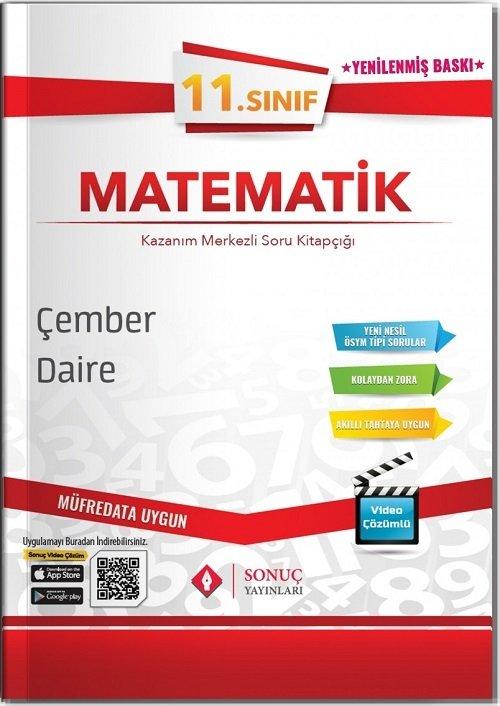 Sonuç Yayınları 11. Sınıf Matematik Çember ve Daire Soru Bankası