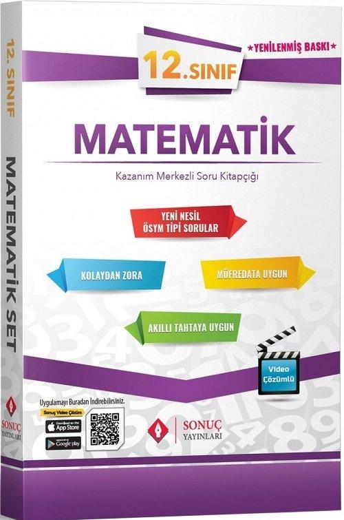 Sonuç Yayınları 12. Sınıf Matematik Modüler Set Soru Bankası