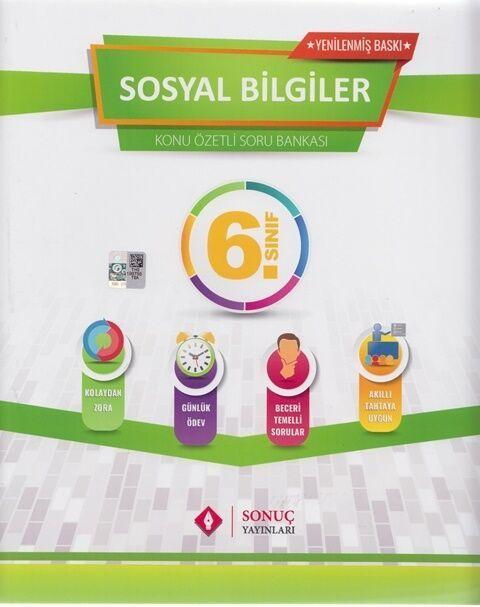 Sonuç Yayınları 6. Sınıf Sosyal Bilgiler Modüler Set