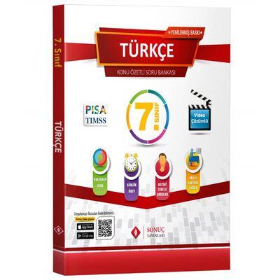 Sonuç Yayınları 7. Sınıf Türkçe Modüler Set