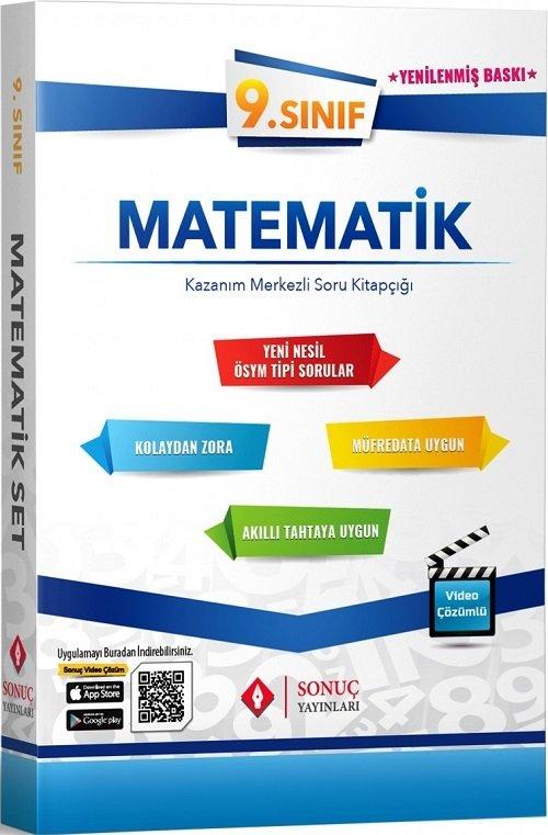 Sonuç Yayınları 9. Sınıf Matematik Modüler Set Soru Bankası