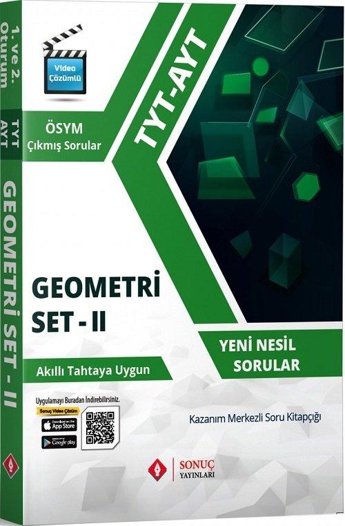 Sonuç Yayınları TYT AYT Geometri Set-2 Soru Bankası