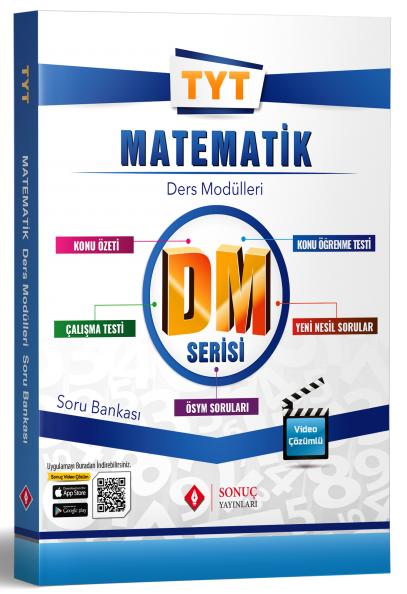 Sonuç Yayınları TYT Matematik DM Ders Modülleri Soru Bankası