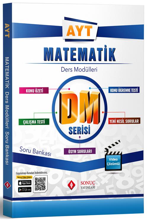 Sonuç Yayınları YKS AYT Matematik DM Ders Modülleri Soru Bankası