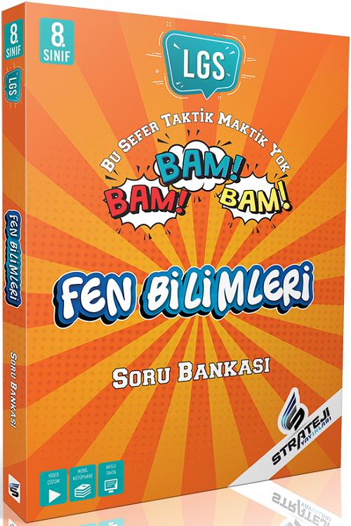 Strateji Yayınları 8. Sınıf LGS Fen Bilimleri Bam Bam Soru Bankası