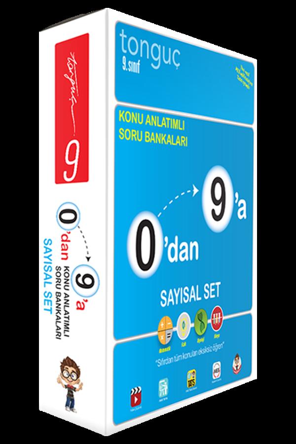 Tonguç Yayınları 9. Sınıf Sayısal 0 dan 9 a Konu Anlatımlı Soru Bankası