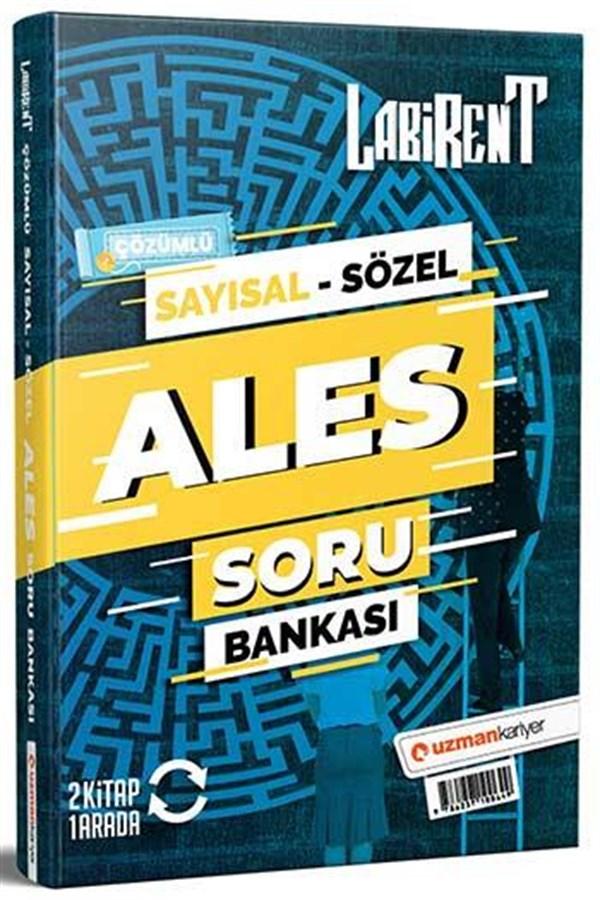 Uzman Kariyer Yayınları 2021 ALES Labirent Sayısal Sözel Soru Bankası