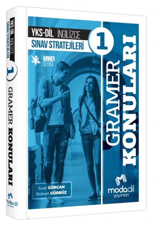 YKS DİL İngilizce Sınav Stratejileri 1 Gramer Konuları Modadil Yayınları