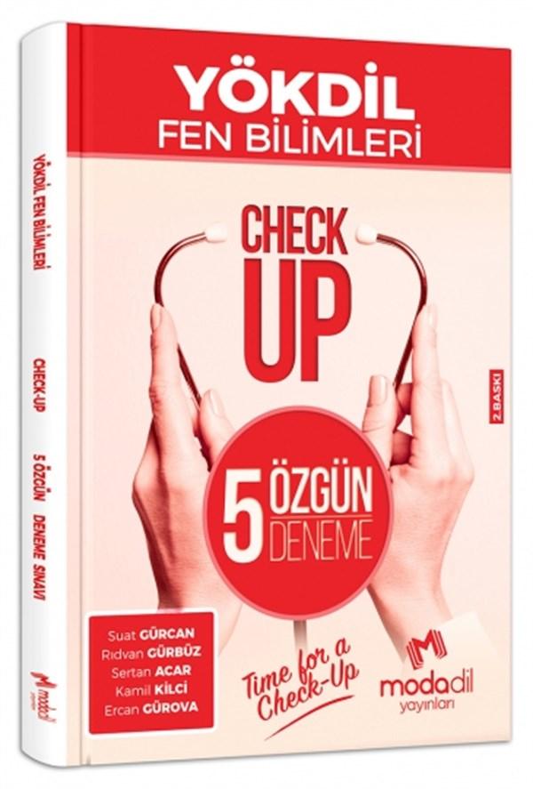 YÖKDİL Fen Check-Up 5 Özgün Deneme Sınavı Modadil Yayınları