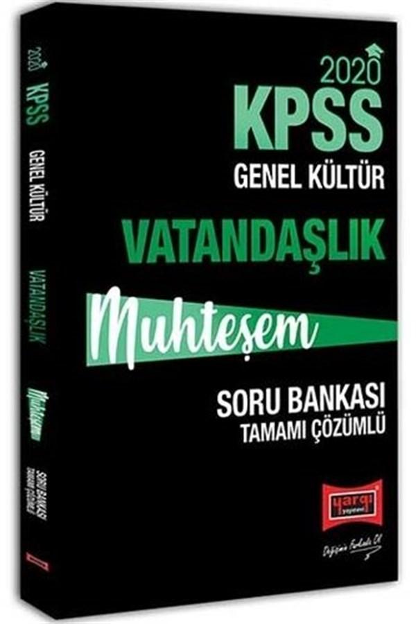 Yargı Yayınları 2020 KPSS Muhteşem Vatandaşlık Tamamı Çözümlü Soru Bankası