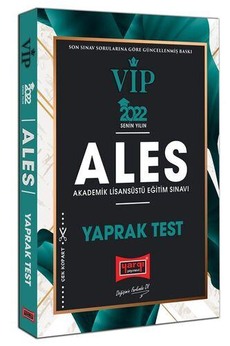 Yargı Yayınları 2022 ALES VIP Yaprak Test