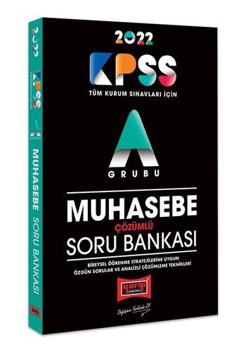 Yargı Yayınları 2022 KPSS A Grubu Muhasebe Çözümlü Soru Bankası