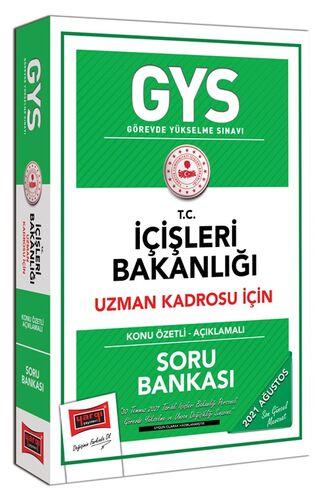 Yargı Yayınları GYS T.C İçişleri Bakanlığı Uzman Kadrosu İçin Konu Özetli Açıklamalı Soru Bankası
