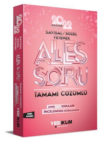 Yediiklim Yayınları 2022 Master Serisi Ales Sayısal-Sözel Tamamı Çözümlü Soru Bankası