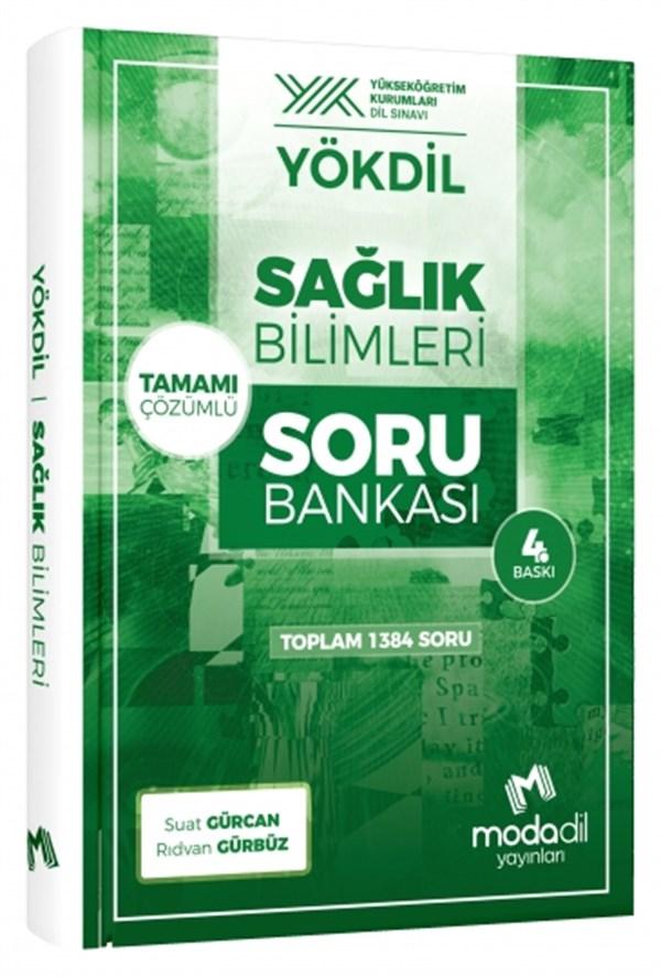 YökDil Sağlık Bilimleri Soru Bankası Modadil Yayınları