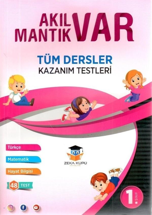 Zeka Küpü Yayınları 1. Sınıf Tüm Dersler Akıl Var Mantık Var Kazanım Testleri