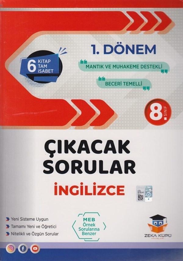 Zeka Küpü Yayınları 8. Sınıf LGS 1. Dönem İngilizce Çıkacak Sorular