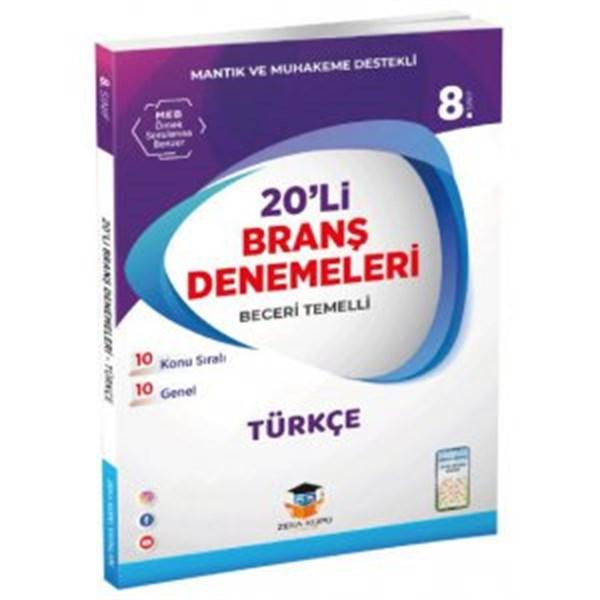 Zeka Küpü Yayınları 8. Sınıf Türkçe 20 Deneme