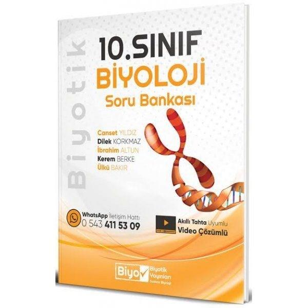 10. Sınıf Biyoloji Biyotik Soru Bankası Biyotik Yayınları