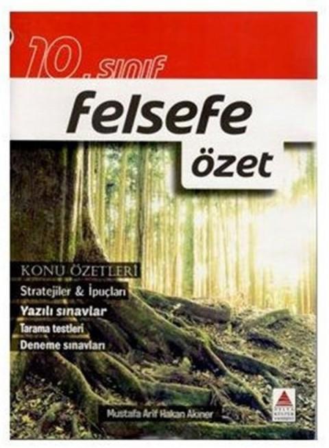 10. Sınıf Felsefe Özet Delta Yayınları