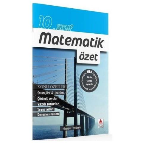 10. Sınıf Matematik Konu Özetli Çözümlü Soru Bankası Delta Kültür Yayınları