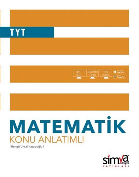 12.Sınıf TYT Matematik Konu Anlatımlı Kitabı Simya Yayınları