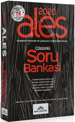 İrem Yayıncılık 2020 ALES Soru Bankası Çözümlü
