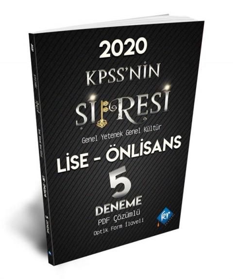 2020 Lise-Önlisans KPSSnin Şifresi 5 Deneme