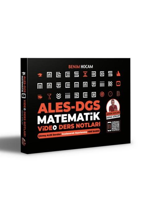 2021 ALES DGS Matematik Video Ders Notları Benim Hocam Yayınları