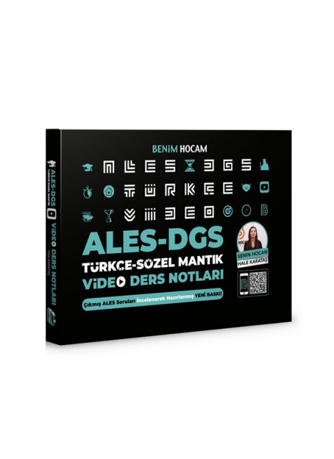 2021 ALES DGS Türkçe - Sözel Mantık Video Ders Notları Benim Hocam Yayınları