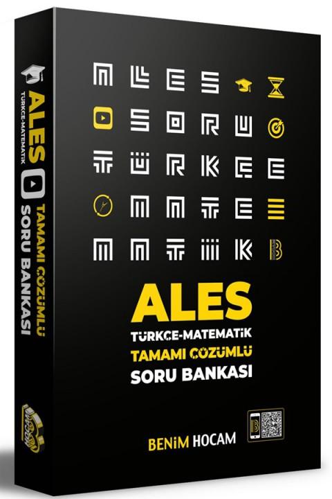 2021 ALES Tamamı Çözümlü Soru Bankası Benim Hocam Yayınları