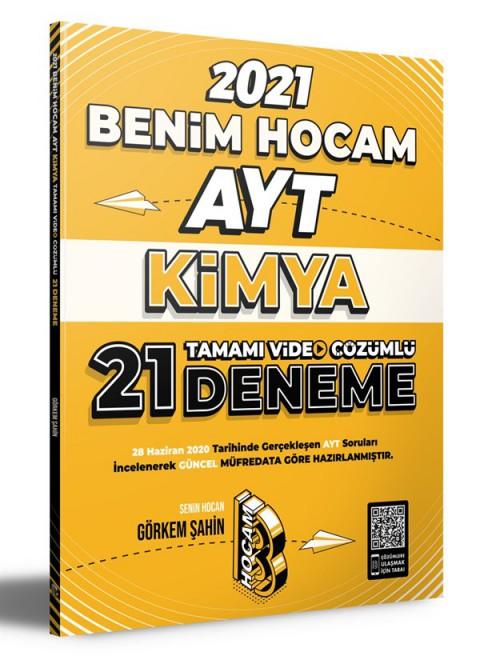 2021 AYT Kimya Tamamı Video Çözümlü 21 Deneme Sınavı Benim Hocam Yayınları