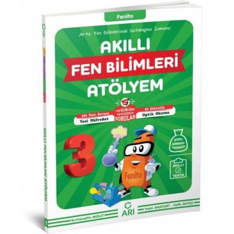 3. Sınıf Akıllı Fen Bilimleri Atölyem Fenito Arı Yayınları