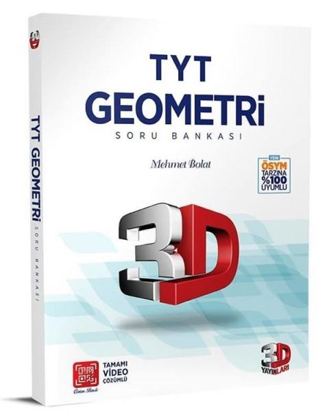 3D Yayınları TYT Geometri Soru Bankası Tamamı Video Çözümlü