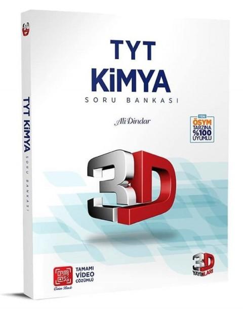 3D Yayınları TYT Kimya Soru Bankası Tamamı Video Çözümlü
