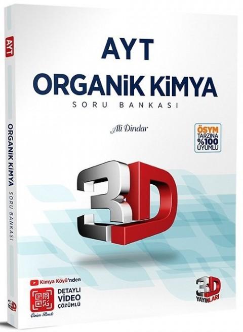 3D Yayınları YKS AYT Organik Kimya Soru Bankası Video Çözümlü