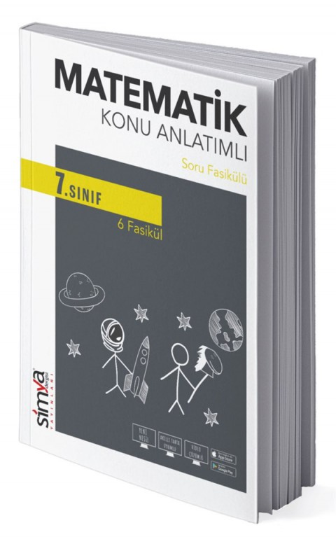 7.Sınıf Matematik Konu Anlatımlı Soru Fasikülü Simya Yayınları