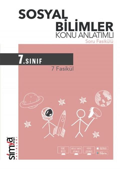7.Sınıf Sosyal Bilgileri Konu Anlatımlı Soru Fasikülü Simya Yayınları