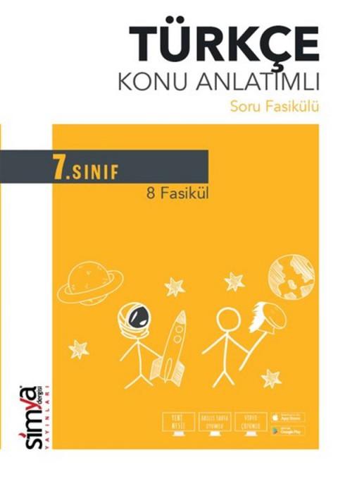 7.Sınıf Türkçe Konu Anlatımlı Soru Fasikülü Simya Yayınları