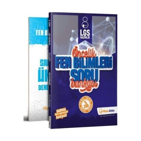 8. Sınıf LGS Öncelik Fen Bilimleri Soru Bankası Hiper Zeka Yayınları