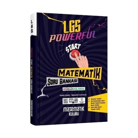 8 .Sınıf LGS Powerful Start Matematik Soru Bankası Matematik Kulübü Yayınları