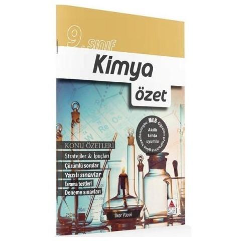 9. Sınıf Kimya Konu Özetli Çözümlü Soru Bankası Delta Kültür Yayınları