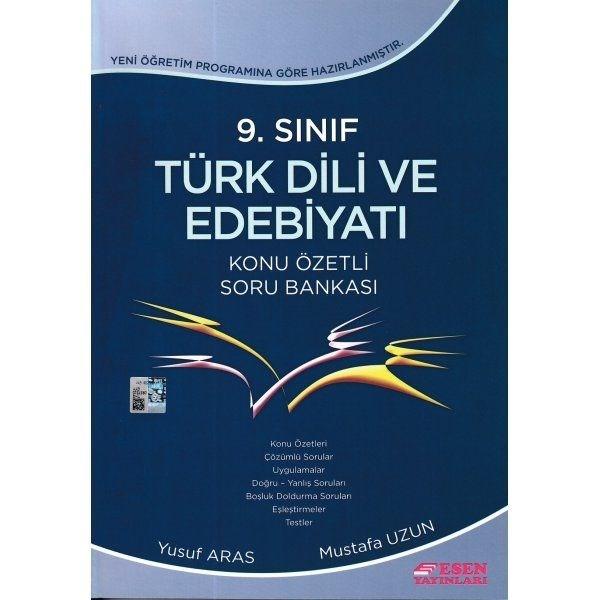 9. Sınıf Türk Dili ve Edebiyatı Konu Özetli Soru Bankası Esen Yayınları