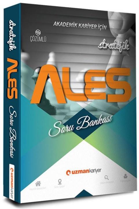 ALES Stratejik Tamamı Çözümlü Soru Bankası Uzman Kariyer Yayınları